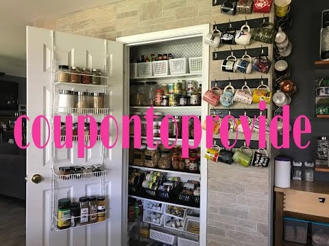 Pantry Organization | 7 Tips & Tricks No-one wants to tell you! | May 2017