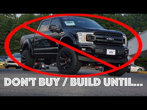 5 Things to know Before Buying A Lifted Truck