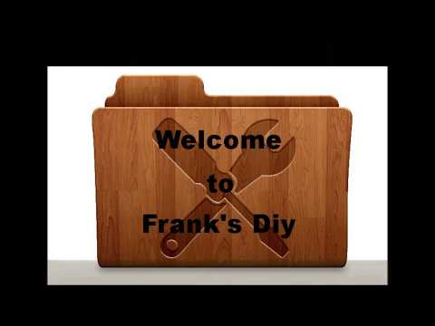 Welcome to Franks DIY