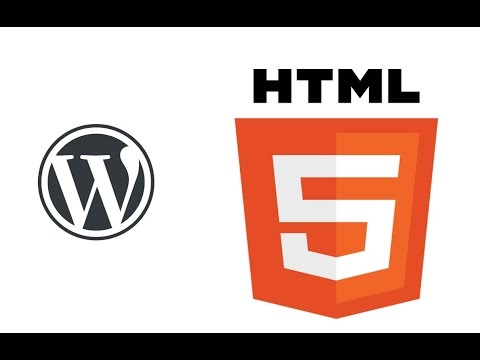 WordPress Website - Add Custom HTML and CSS