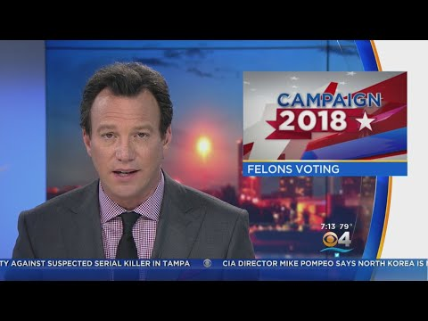 Florida Voters Will Be Asked To Restore Felon Voting Rights