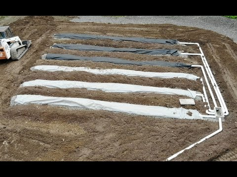 Installing a new septic system