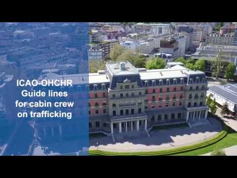 Combat human trafficking on flights by training cabin crews