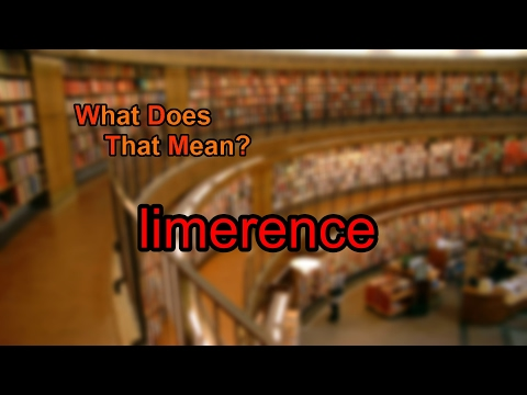 What does limerence mean?