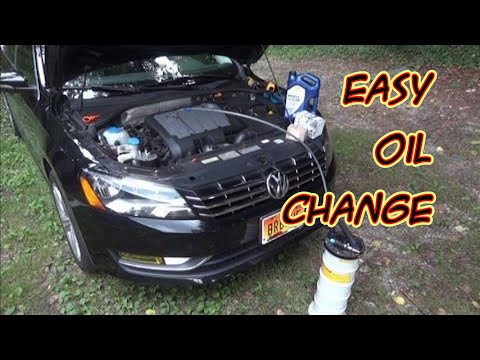 2012 VW Passat TDI TopSide Oil, Oil Filter, and Fuel Filter Change