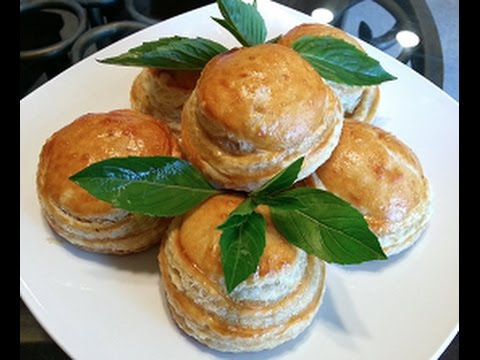 How to make Hot Vietnamese Puff Pastry Pies recipe - Pate Chaud - Banh Pateso