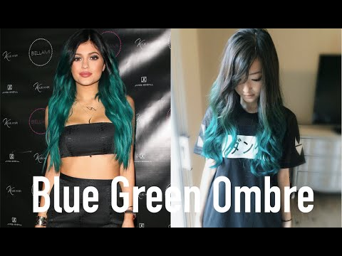 DIY Teal Ombre Hair (Inspired by Kylie Jenner)