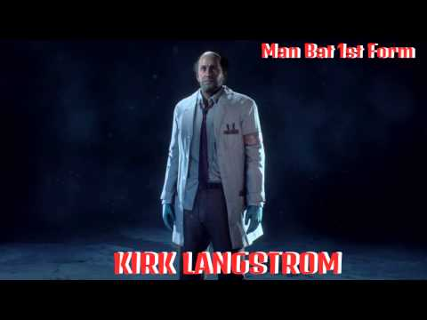 Batman Arkham Knight - Kirk Langstrom (Man Bat 1st Form) ShowCase
