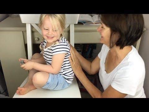 Massage Techniques for Children