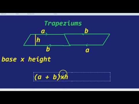 Area of a Trapezium