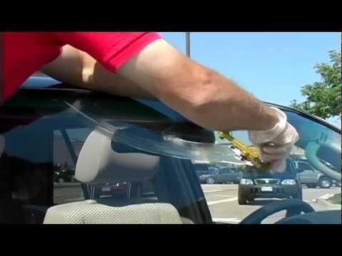 Windshield crack repair (17 inch)
