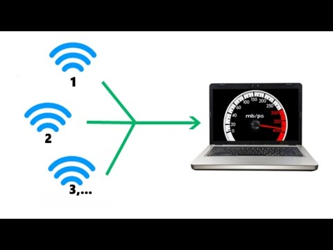 How To Combine Two Wi-Fi - Use Multiple Internet Connections