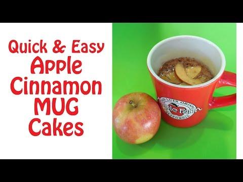 Easy Apple Cinnamon Mug Cake