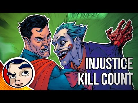 Injustice Year 1-5 Comic & Game KILL COUNT!