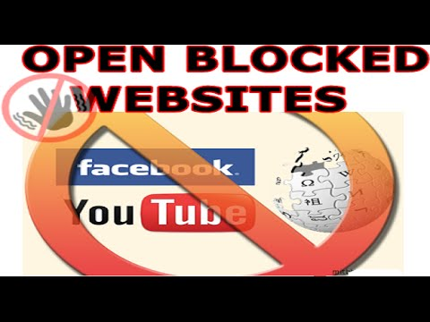 How To Open Blocked Sites Easily Without Proxy And Download 2016