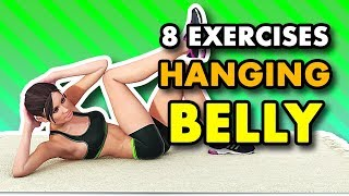 8 Best Abs Exercises To Reduce Hanging Belly