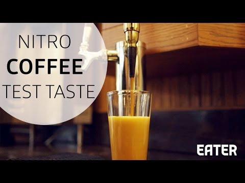 Nitro Coffee Vs. Cold Brew :  A Taste Test
