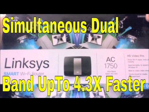Linksys AC1750 Fastest Wi-Fi Internet Router EA6500 EA6700 Unboxing and Review #SSSVEDA 19 #VEDA