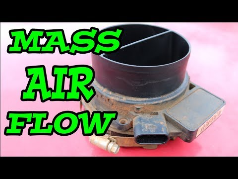 DIY How to Remove Replace MASS AIRFLOW SENSOR (1997-2006 Chevy Truck)