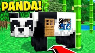 Download How to Live Inside a PANDA in Minecraft Tutorial! (Pocket Edition, PS4/3, Xbox, PC, Switch) Video