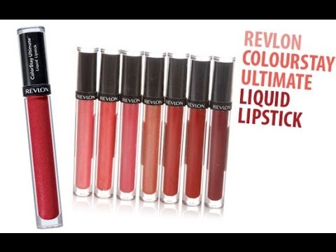First Impressions- Revlon Colorstay Ultimate Liquid lipstick