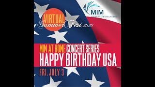 Happy Birthday USA! (Concert @ 7 pm; Pre-concert Picnic @ 6 pm)