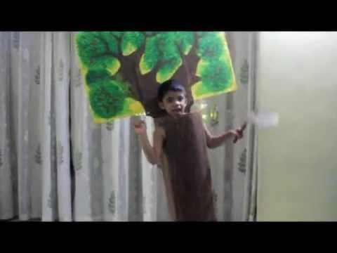 Tree Fancy Dress - Save Planet