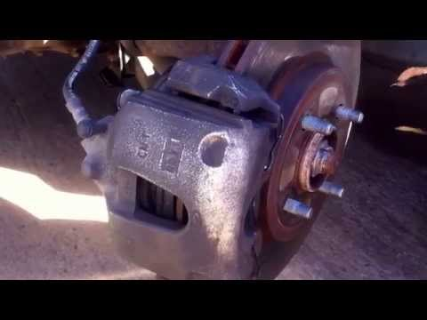 How to replace front brake pads on a Ford Focus SVT Zx3 ZX5 ZX4 SE SES SW