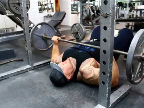 BIG BOY How to Build a Big Bench: Floor Press @BIGSCBOY