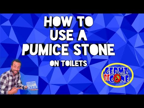 How To Remove Hard Water Buildup From Toilet Using A Pumice Stone (if you must)