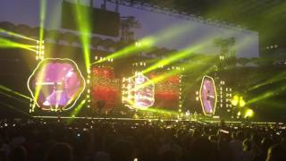Coldplay - Milano San Siro 2017 - HD 1080P - FULL SONG YELLOW & FIX YOU