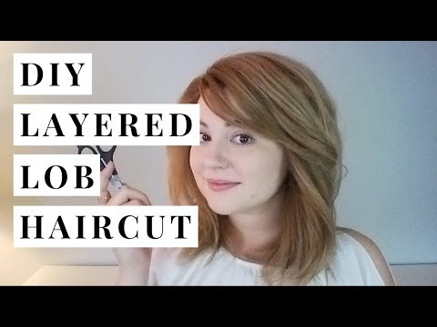 DIY Haircut (Adding Layers to a Lob) | Hey Julia Rae
