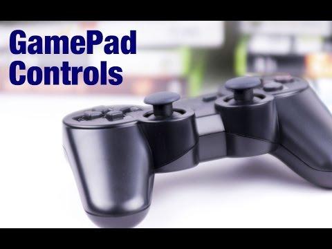 Gamesalad GamePad Controls