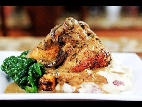 Crispy Roasted Chicken Marsala   How to make Chicken Marsala