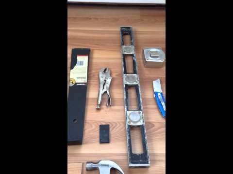 Tools needed for Traffic Master Allure Ultra Flooring