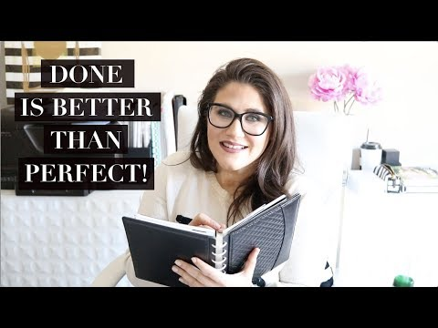 HOW TO OVERCOME OVERWHELM AND PERFECTIONISM SO YOU CAN GET THINGS DONE!