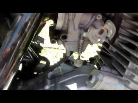 Suzuki 250 Won't Start Carburetor Problem R&R Carb