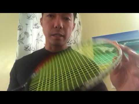 Badminton Stringing Sound Check 24 x 26 lbs