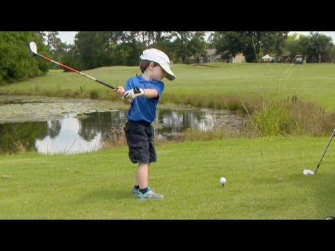 Is This 3-Year-Old Golf Prodigy the Next Tiger Woods? | Nightline | ABC News