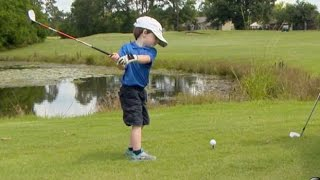 Is This 3-Year-Old Golf Prodigy the Next Tiger Woods?   Nightline   ABC News