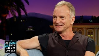 What Awards Does Sting Keep In His Bathroom?