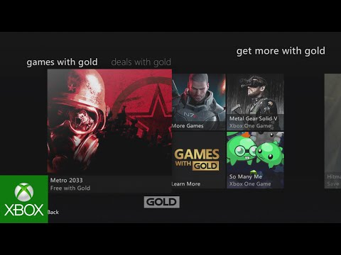 Xbox Live Gold: Get 10 Free Games before 2016