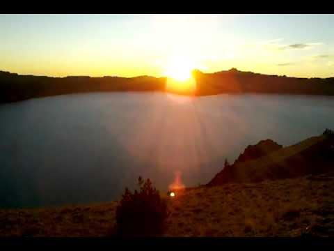 Sunset Crater Lake 2012