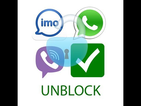 UNBLOCK IMO, WHATS APP VIBER , PART 2 - STV
