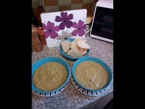 Organic Spicy Parsnip Soup