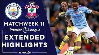 Manchester City v. Southampton | PREMIER LEAGUE HIGHLIGHTS | 11/02/19 | NBC Sports