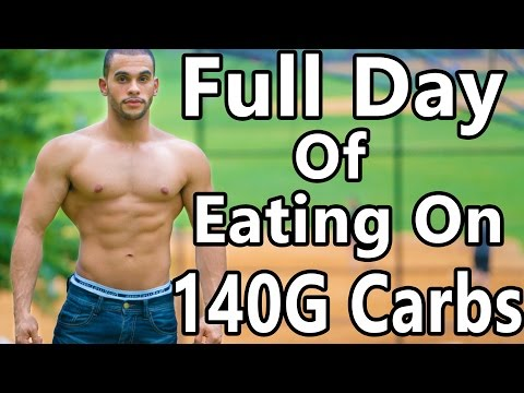 Full Day of Eating on Low Carbs - 140G of Carbs
