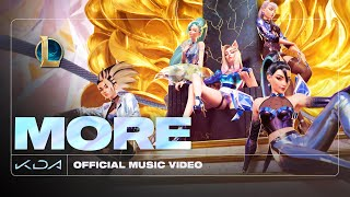 K/DA - MORE ft. Madison Beer, (G)I-DLE, Lexie Liu, Jaira Burns, Seraphine (Official Music Video)