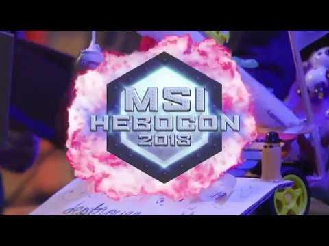 Hebocon at MSI 2018