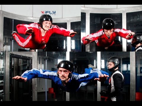 Indoor SKYDIVING at iFly in Toronto, Canada! vlog